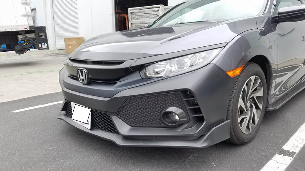 2016 honda civic 10th gen to fk8 type r front bumper conversionhonda civic 10th gen civic to fk8 type r front bumper conversion