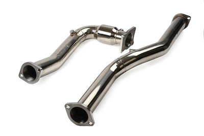 Tomioka Racing Hi-Flow Catted J-Pipe - 2015+ Subaru WRX 6-Spd MT