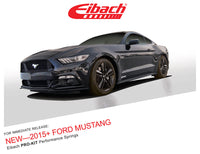 Eibach Pro-Kit Lowering Springs Ford Mustang GT (15-18 GT w/o MagneRide)