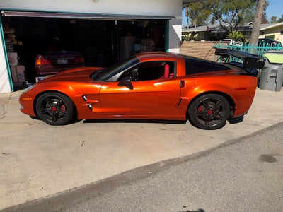 CHEVROLET CORVETTE C6 TO ZR1 FULL WIDE BODY KIT (05-13) (4PCS)