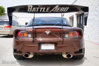 Battle Aero Swan Neck Chassis Mount Wing for Honda S2000