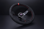 DND 350mm Suede Race Steering Wheel