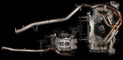 Tomei Powered Expreme Ti Titanium Cat Straight Pipe Type 60 - Scion FR-S / Subaru BRZ