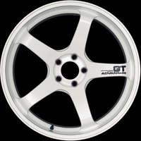 Advan Racing GT / Racing White 18in 19in 20in