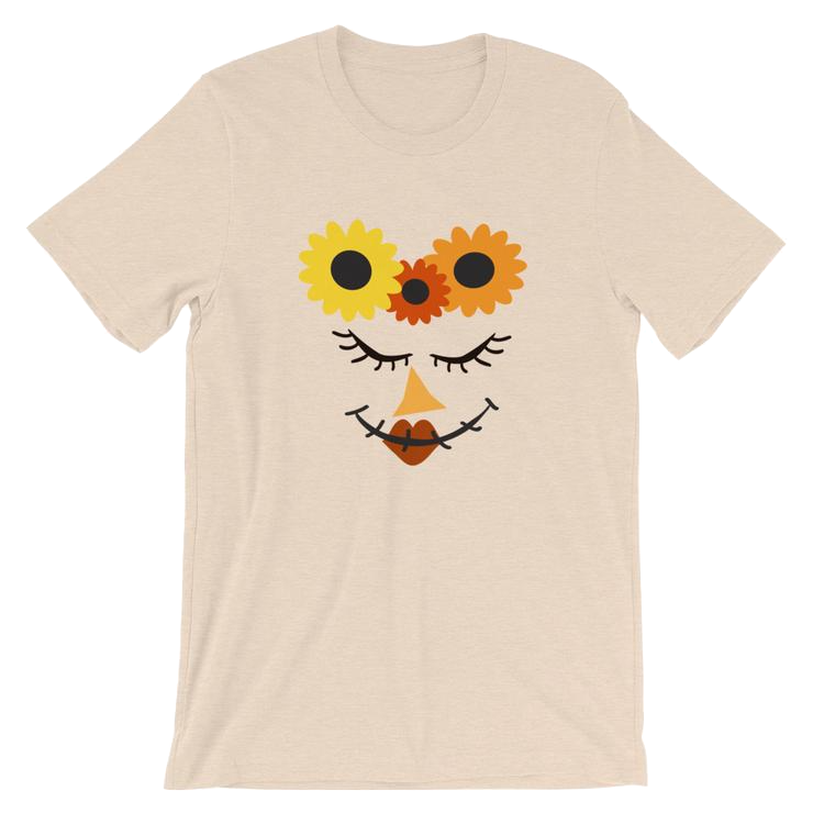 Flower Scarecrow Face Favorite Tee