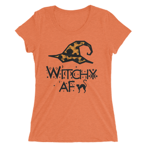 Witchy AF Fitted Girlie Tee