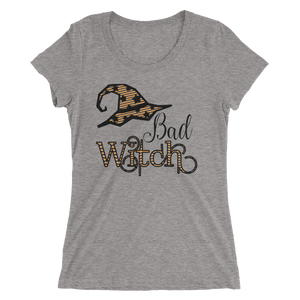 Bad Witch Fitted Girlie Tee