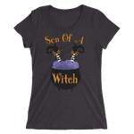 Son Of A Witch Fitted Girlie Tee