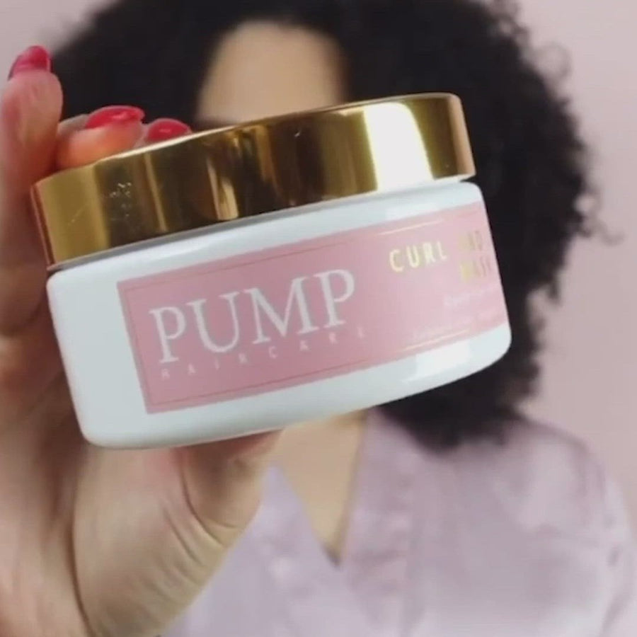 Pump Curl and Grow Mask