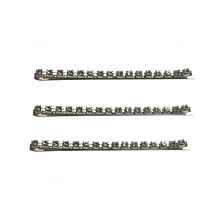 Pump Crystal Barrette Set