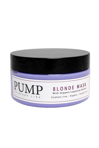 Pump Blonde Hair Mask