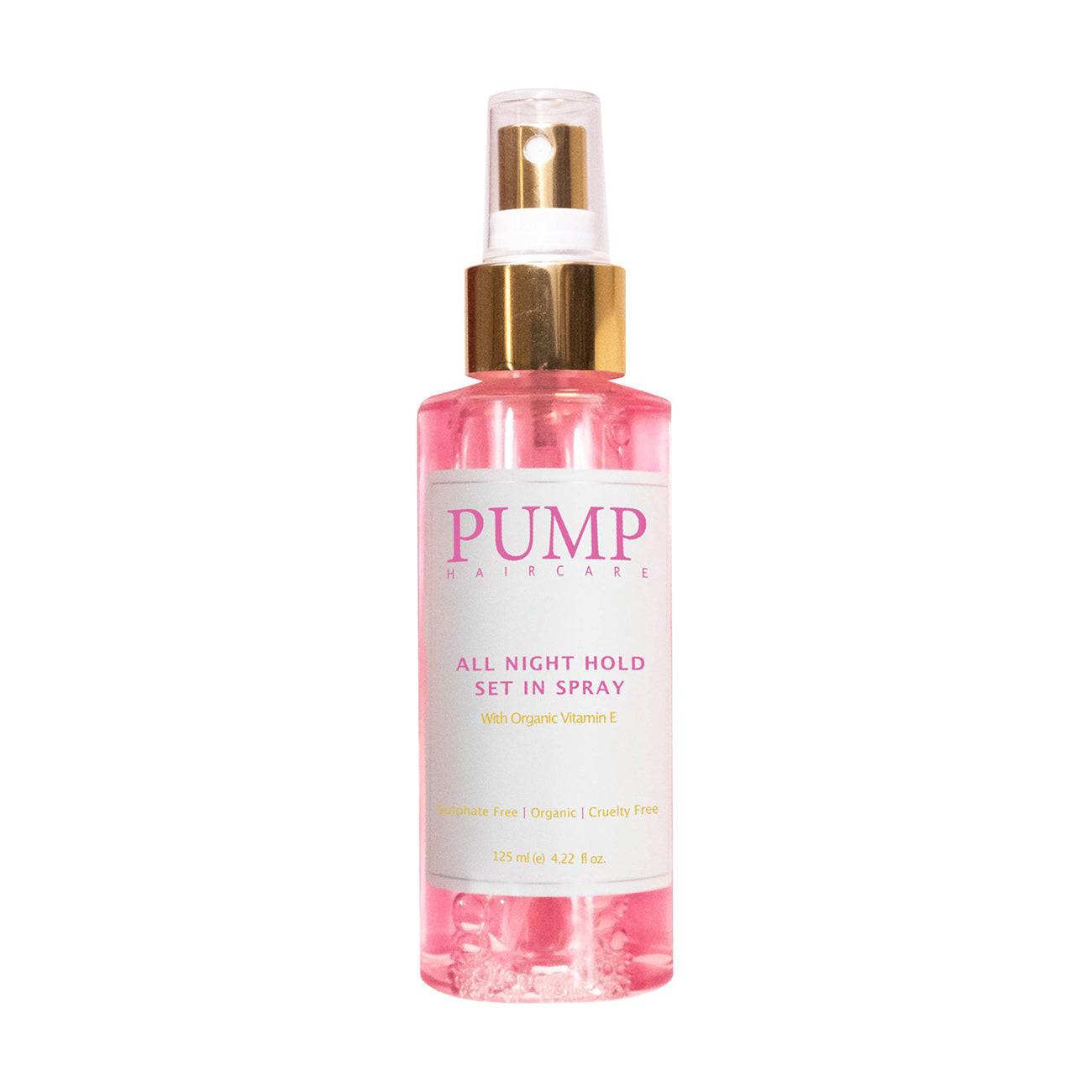 Pump All Night Hold Set In Spray