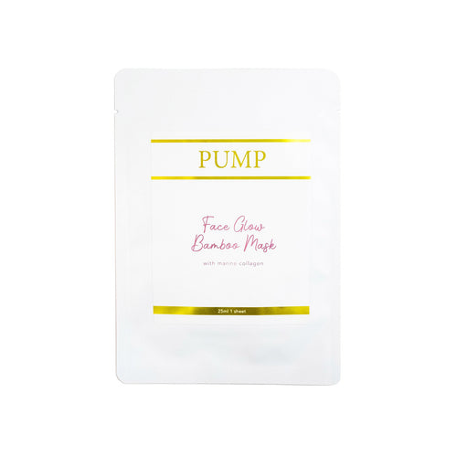 Pump Face Glow Bamboo Mask