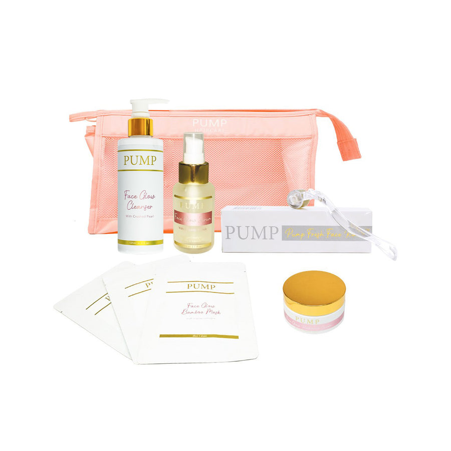 Pump Face Glow Beauty Value Pack