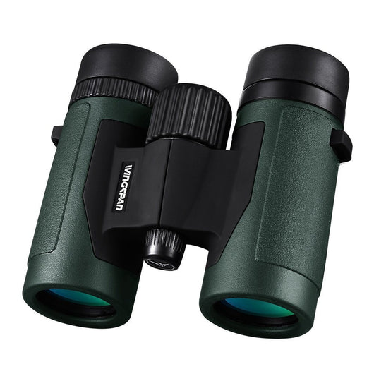 Wingspan Optics Pioneer 8X32 Compact Binoculars for Bird Watching Quickly Transition from Wide View to Ultra-Sharp Focus in Seconds for Hours of Bright, Clear Observation from 1000 Yards - Wingspan Optics