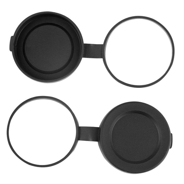 Wingspan Optics Binocular Lens Covers - 42mm Tethered Objective Lens CAP for Polaris Optics and Wingspan Optics 8x42 and 10X42 Binoculars - Wingspan Optics