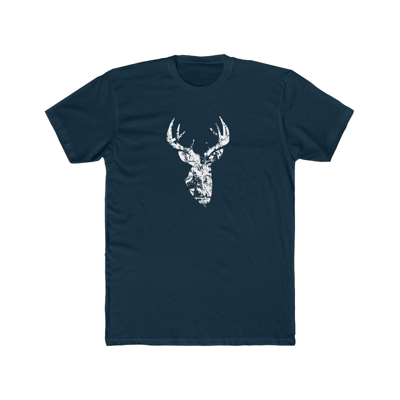 Men's Camo Pattern Buck Tee