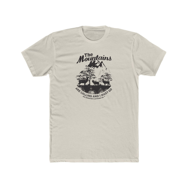 Men's The Mountains are Calling Tee