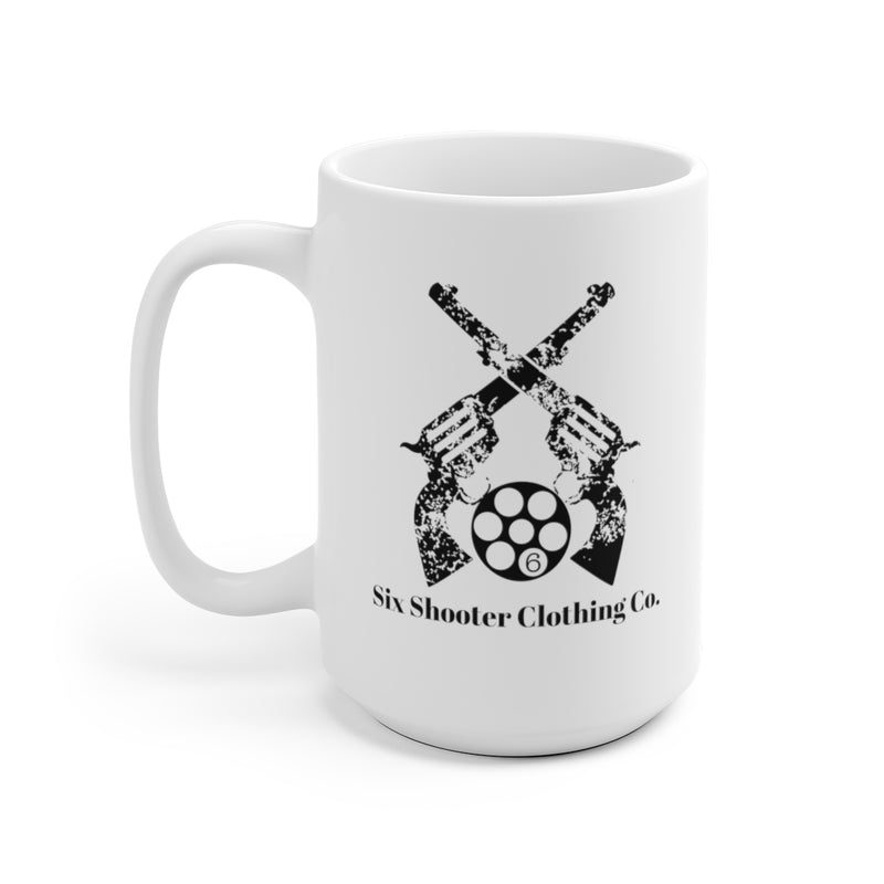 Six Shooter Logo Exclusive Coffee Mug