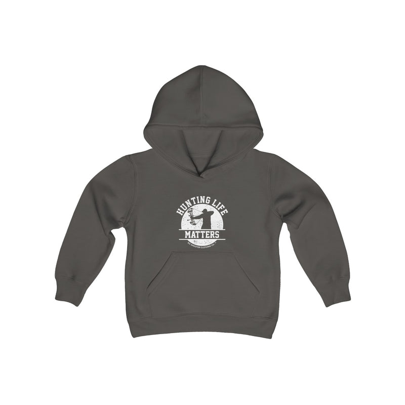 Youth Boys Hunting Life Matters Hoodie - Bow
