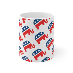 Republican Elephant Coffee Mug