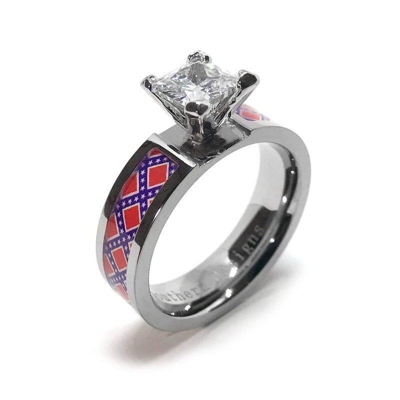 Rebel Women's Titanium Ring