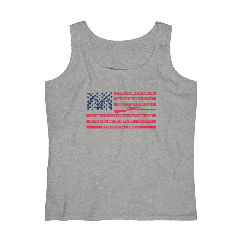 2nd Amendment Flag Women's Tank