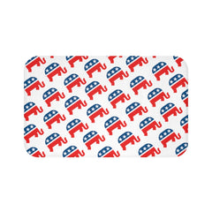 Republican Rearing Elephant Bath Mat