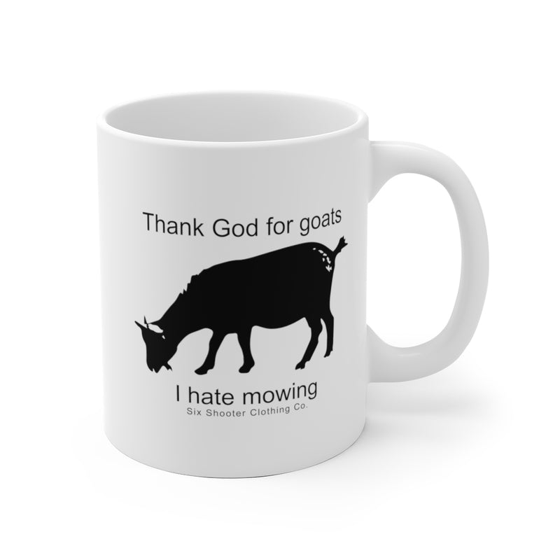 Thank God For Goats Coffee Mug