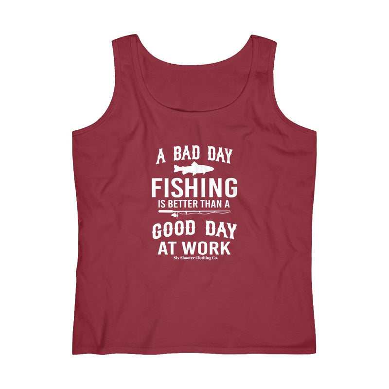 Women's Bad Day Fishing Tank