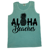 Aloha Beaches Tank  (sizes run big)