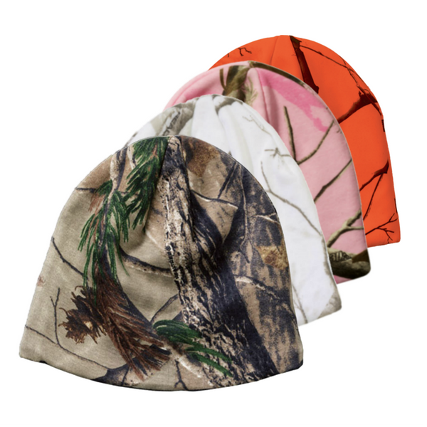 Realtree Camo Beanie (WHITE & PINK SOLD OUT)