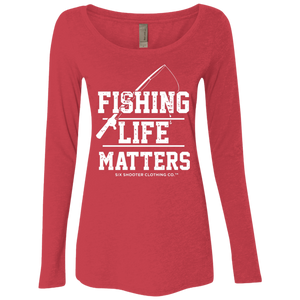 Long Sleeve Fishing Life Matters Shirt