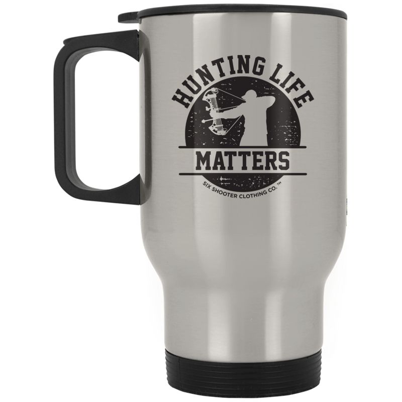 Men's Bow Hunting Life Matters Travel Mug