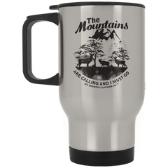 Deer & Elk Mountains Are Calling Travel Mug