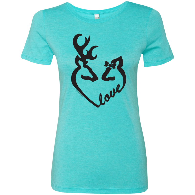 Buck + Doe Love Heart Tee
