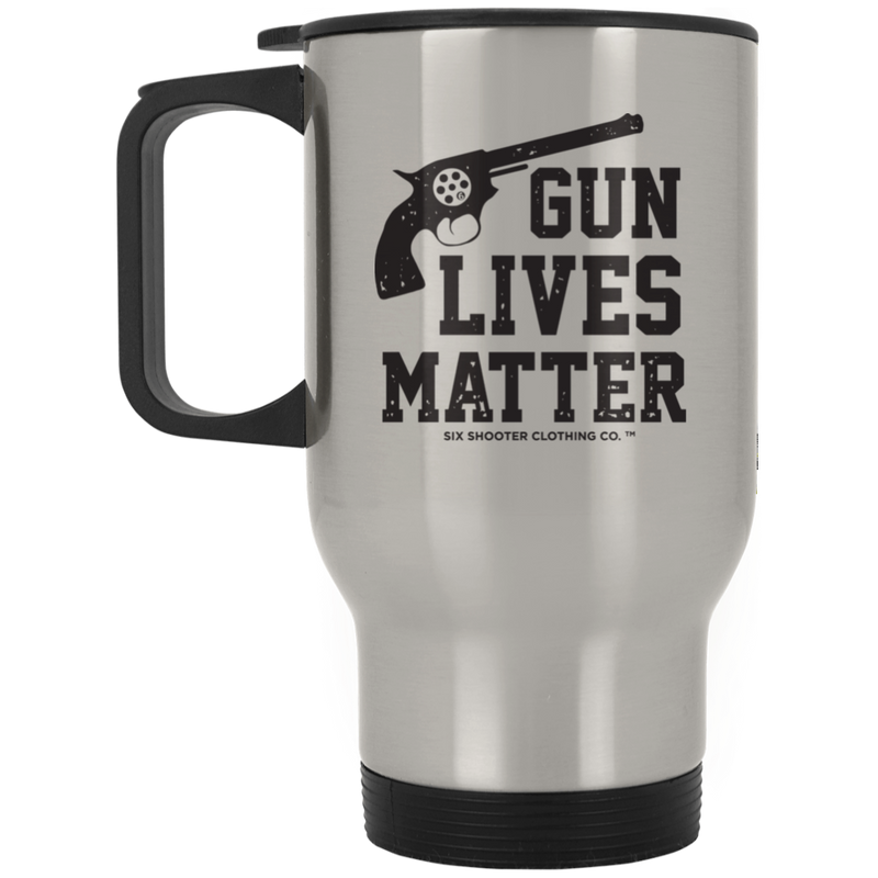Second Amendment G U N Lives Matter Travel Mug
