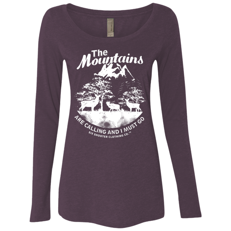 Long Sleeve Hunting Life Matters Shirt