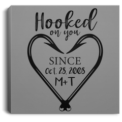 Hooked on You Personalized Wall Hanging