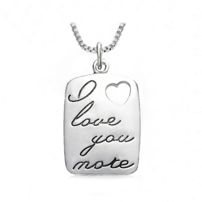 I Love You More Necklace (ONLY 6 LEFT)