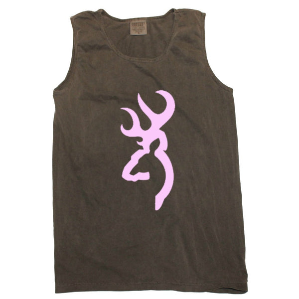 Browning Buck in Pink Tank (sizes run big)