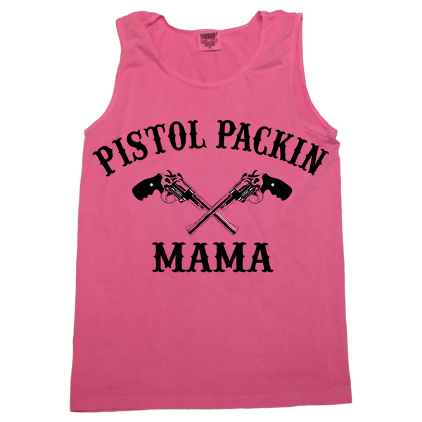 Pistol Packin Mama Tank (sizes run big)