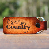 She's Country Keychain