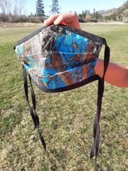 Six Shooter Camo Face Cover