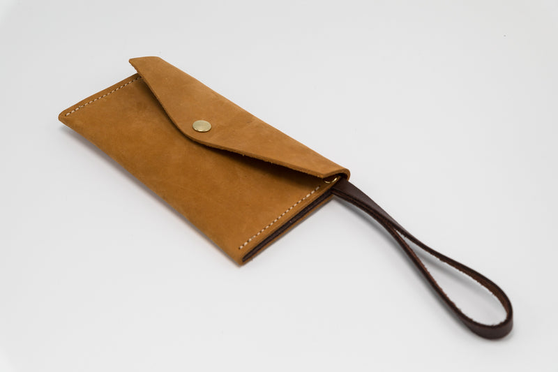 Six Shooter Exclusive Genuine Leather Wristlet Hand Bag
