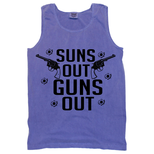 Suns Out Guns Out Tank (sizes run big)