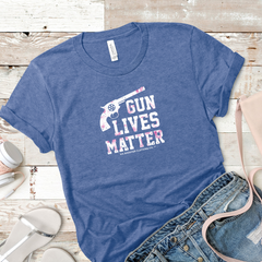 Second Amendment G U N Lives Matter Women's Tee