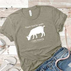 Women's Thank God For Goats Tee