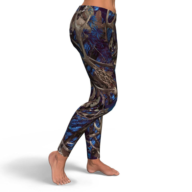Camo & Country Women's Blue Camo Full Length Leggings