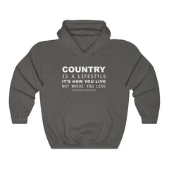 Men's Country Is A Lifestyle Hoodie